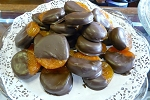 Chocolate Covered Apricots 1/4 Pound